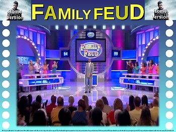 THANKSGIVING Family Feud! Fun, Interactive Game to Celebrate the Holiday