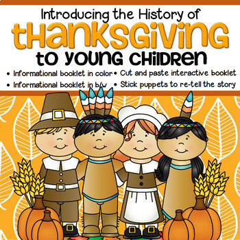 THANKSGIVING Introducing the History and Vocabulary to Pre