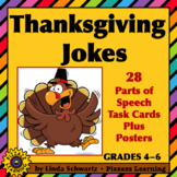 THANKSGIVING JOKES  • PARTS OF SPEECH