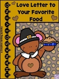 THANKSGIVING Love Letter to Your Favorite Food (Descriptive Writing)
