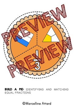 THANKSGIVING ACTIVITIES FOR GRADE 2 (BUILD A PIE FRACTIONS GAME)