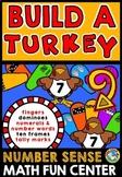 THANKSGIVING ACTIVITY KINDERGARTEN (BUILD A TURKEY NUMBER