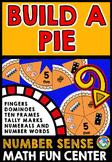 THANKSGIVING ACTIVITIES KINDERGARTEN (BUILD A PIE NUMBER SENSE GAME FOR KINDERS)