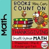 THANKSGIVING MATH ACTIVITIES for Preschool Small Groups