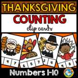 THANKSGIVING MATH CENTERS KINDERGARTEN (NOVEMBER ACTIVITIES FOR COUNTING)
