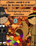 THANKSGIVING SPANISH BOOK ACTIVITY
