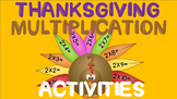 THANKSGIVING MULTIPLICATION ACTIVITIES