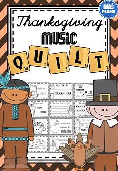THANKSGIVING MUSIC - LISTENING QUILT
