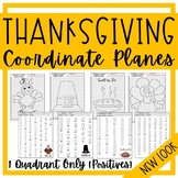 THANKSGIVING POSITIVE Coordinate Planes