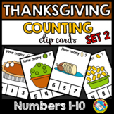 THANKSGIVING PRESCHOOL ACTIVITIES FOR COUNTING