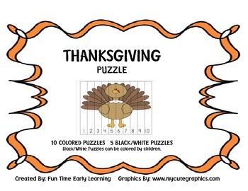 THANKSGIVING PUZZLES 1-10