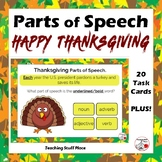 THANKSGIVING ... Parts of Speech ... Grades 4-5  BONUS DIGITAL DECK