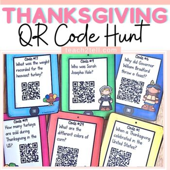 THANKSGIVING: QR CODE HUNT: HISTORY AND TRADITION