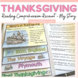 THANKSGIVING RESEARCH: PERSONAL RECOUNT: HISTORY