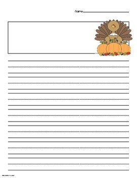 THANKSGIVING STORY PAGES!