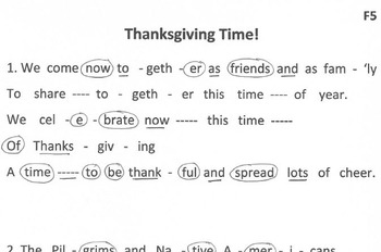 THANKSGIVING TIME! Song & Easy Tone Chimes & Bells Arrangement