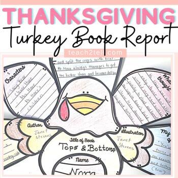 THANKSGIVING: TURKEY BOOK REPORT