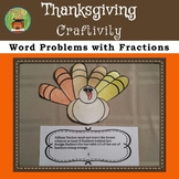 THANKSGIVING TURKEY FRACTION CRAFTIVITY TASK CARDS