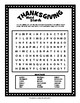 THANKSGIVING Word Puzzles - Five Fun Choices!