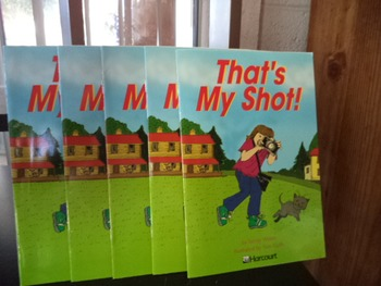 THATS MY SHOT    ISBN 0-15-323138-6  (set of 5)