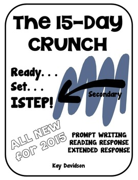 THE 15 DAY CRUNCH Tips for Secondary ISTEP by Kay Davidson
