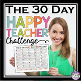 FREE: THE 30 DAY HAPPY TEACHER CHALLENGE (Free Download)