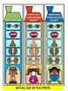 THE FIVE SENSES- CLIP IT LITERACY CENTRE ACTIVITY