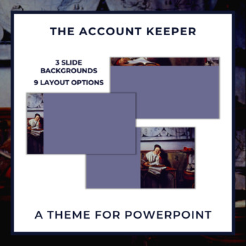 THE ACCOUNT KEEPER Theme for PowerPoint