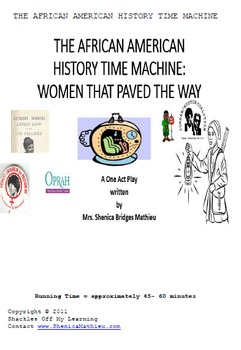 THE AFRICAN AMERICAN HISTORY TIME MACHINE : Women who paved the way