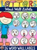 THE ALPHABET: LETTER WORD CARDS:PHONEMIC AWARENESS