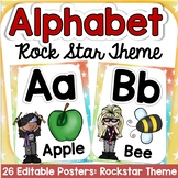THE ALPHABET: ROCK STAR THEME