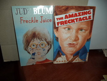 THE AMAZING FRECKTACLE  FRECKLE JUICE     (SET OF 2)