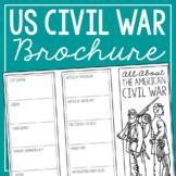 THE AMERICAN CIVIL WAR Research Brochure Template, America