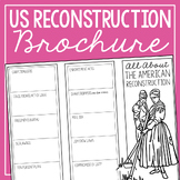 THE AMERICAN RECONSTRUCTION Research Brochure Template, Am