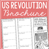 THE AMERICAN REVOLUTION Research Brochure Template, World