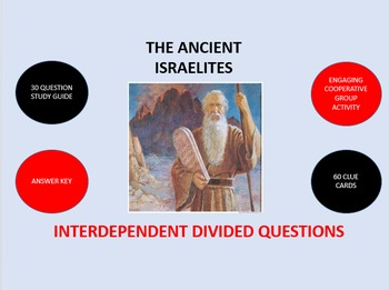 The Ancient Israelites:  Interdependent Divided Questions