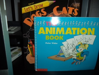 THE ANIMATION BOOK   LETS DRAW  (SET OF 2)
