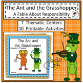 THE ANT AND THE GRASSHOPPER FABLE UNIT CENTERS FOR EMERGEN