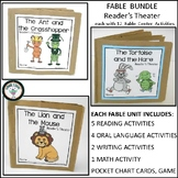 THREE FABLE UNITS BUNDLE ANT AND GRASSHOPPER  LION AND MOUSE TORTOISE AND HARE