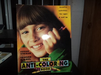 THE ANTI COLORING BOOK           ISBN  0-8050-0246-4