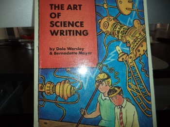 THE ART OF SCIENCE WRITING  0 9159024 20 X