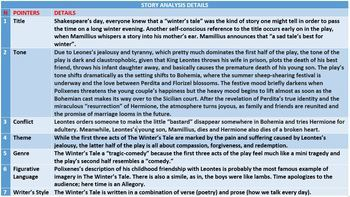 THE WINTER'S TALE - SHAKESPEAREAN TRAGIC-COMEDY: LESSONS AND RESOURCES