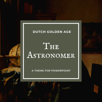THE ASTRONOMER Theme for PowerPoint