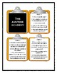 Series of Unfortunate Events THE AUSTERE ACADEMY  - Discussion Cards