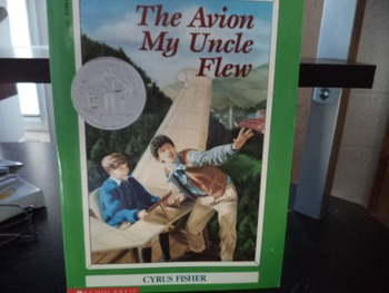THE AVION MY UNCLE FLEW       ISBN 0-590-46242-3