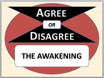 THE AWAKENING - Agree or Disagree Pre-reading Activity