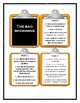 Series of Unfortunate Events THE BAD BEGINNING - Discussion Cards