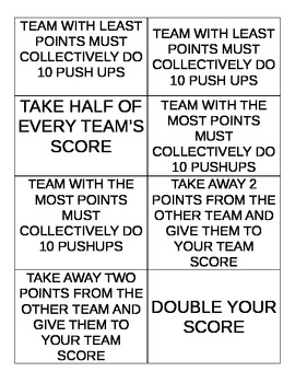 THE BAZINGA GAME CARDS (Word document)