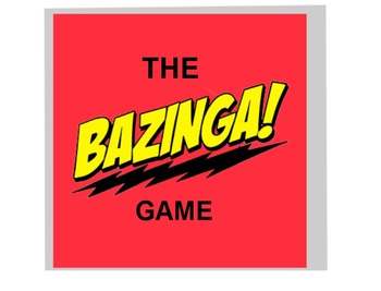 THE BAZINGA GAME Geometry Chapter 1 Review