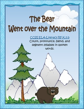 THE BEAR WENT OVER THE MOUNTAIN-Syllable counting